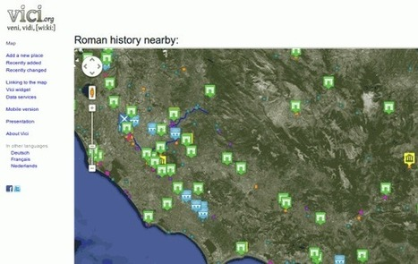 El imperio romano en un mapa de Google | Ciencias Sociales en la RED | Scoop.it