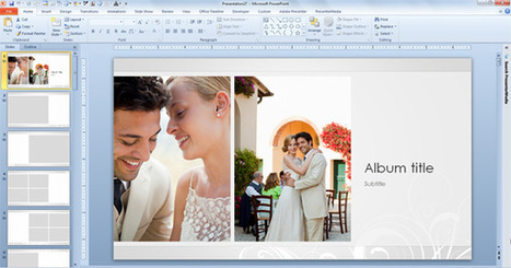 Free Wedding Photo Album Template for PowerPoint 2013 | PowerPoint Presentation | Powerpoint Designs Free Download | Scoop.it