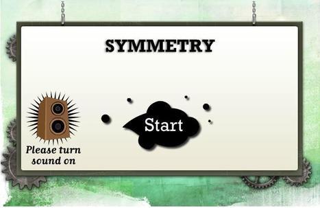 BBC - KS3 Bitesize: Maths - Symmetry | Symmetry Games | Scoop.it