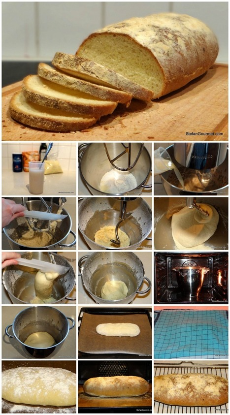 Homemade Italian Bread | Baking Bread At Home | Scoop.it