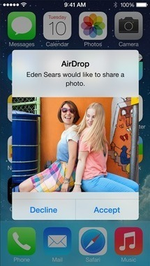 iOS: Using AirDrop   Technology Tools and Tips for Education   Scoop.it