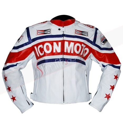 Icon Moto Biker Jacket for Men | Motorcycle Leather Jackets For Men and Women | Scoop.it