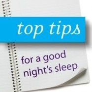 7 Tips for a Good Night's Sleep | Schuessler Tissue Salts | Martin ... | Cell Salts Tissue Salts for health | Scoop.it