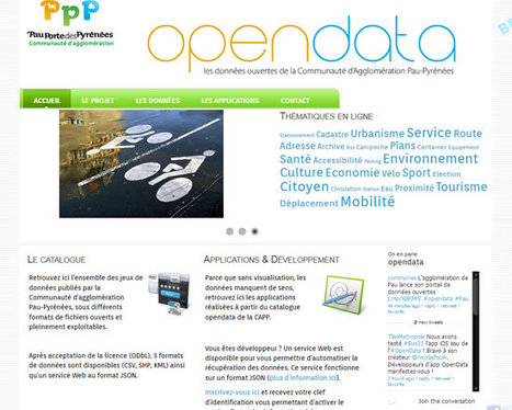 OpenData Pau Pyrénées | OpenData Pau Pyrénées - _ | In bed with data | Scoop.it