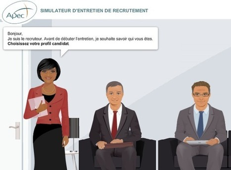 NetEmploi » Simulateur d'entretien de recrutement : Outil gratuit en ligne APEC | Emploi | Scoop.it