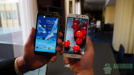 LG Optimus G Pro vs Galaxy Note 2.. by the numbers | Mobile IT | Scoop.it