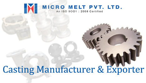 Manufacturers of castings India is increasing the business | Casting Industries | Scoop.it