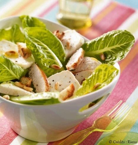 La salade César : une recette savoureuse | Les recettes de Gralon.net | Scoop.it