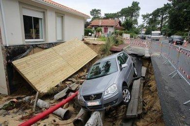 Météo : après l'orage, le Sud-Ouest constate les dégâts - Sud Ouest | Revue de Presse du Caf des Vallées | Scoop.it