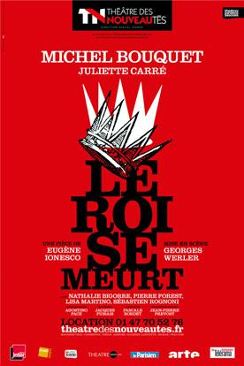 Théâtre des Nouveautés - Le Roi se Meurt   Théâtre & co à Paris   Scoop.it