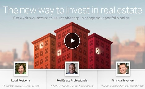 Crowdfunding's Latest Invasion: Real Estate | Social Media and Crowdfunding | Scoop.it