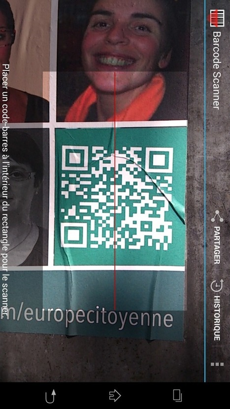 WhatTheF... QR Code, Corinne LEPAGE Europe Citoyenne - QR Code en... | europecitoyenne.net | Scoop.it