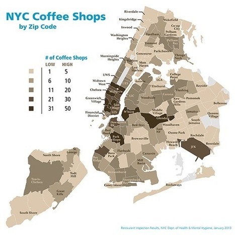 New York City's Indie Coffee Shops Now Outnumber Big Chains | marketing to women | Scoop.it