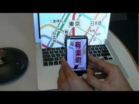 Augmented Reality App fuer Android uebersetzt so ziemlich alles was geht » Netbooknews.de - das Netbook Blog | Augmented Reality und Spiele | Scoop.it