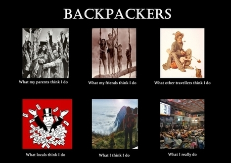 Backpackers | What I really do | Scoop.it