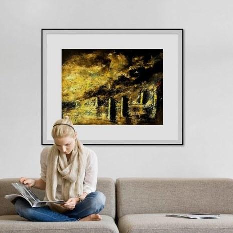 Les toiles chez vous | Peinture au couteau par MARCHINI | Scoop.it