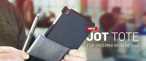 Jot Tote - iPad Mini Case and Stylus Holder | Accesorios iPhone y iPad por Jaimezebus | Scoop.it
