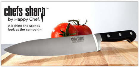 Relaunching a brand: Chefs Sharp video concept and production | eCommerce Success | Scoop.it