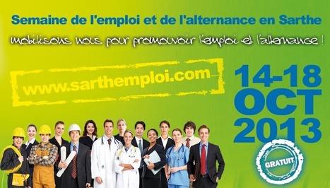 Semaine de l'Emploi et de l'Alternance – Salon du Stage et de l'Alternance | MEDEF Sarthe | Sarthe Développement économique | Scoop.it