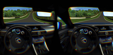 Now you can test drive a Lexus RC F with the Oculus Rift   4D Pipeline - trends & breaking news in Visualization, Virtual Reality, Augmented Reality, 3D, Mobile, and CAD.   Scoop.it