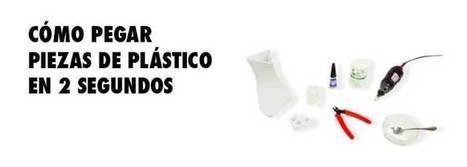 Como pegar piezas de plástico con bicarbonato | reacciones químicas y vida cotidiana | Scoop.it