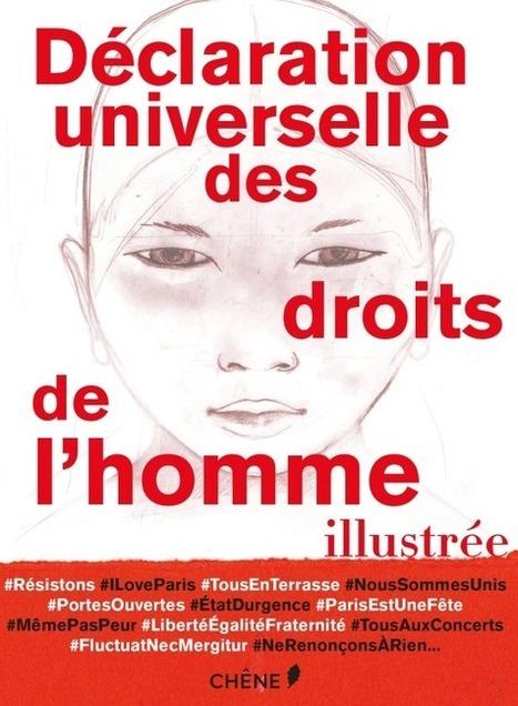 Des artistes illustrent la déclaration des droits de l'homme | Fab Teaching Resources | Scoop.it