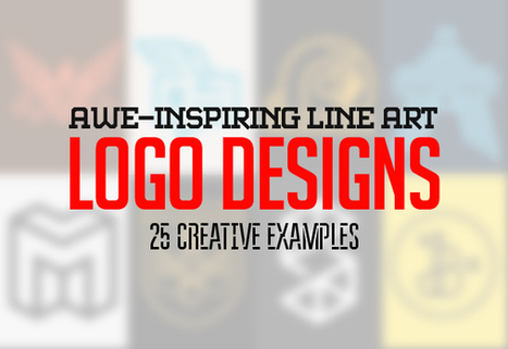 Line Art Logo Design - 25 Creative Examples | Logos | Graphic Design Junction | Web Design | Scoop.it