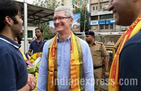 Tim Cook's India Visit: Ten Major Developments at a Glance | All About Apple iPhone,Mac Book,Apple Watch | Scoop.it