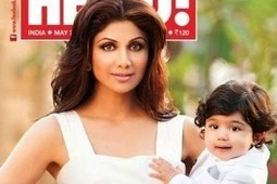 Shilpa Shetty and her Son Viaan on Hello magazine cover | Info Online Pages | Tollywood Movies | Tollywood News | Scoop.it