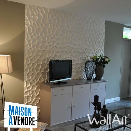 Panneaux 3D dans Maison à Vendre sur M6 - Decoration murale Wall-Decor | Revêtement Mural innovant : Wallart | Scoop.it
