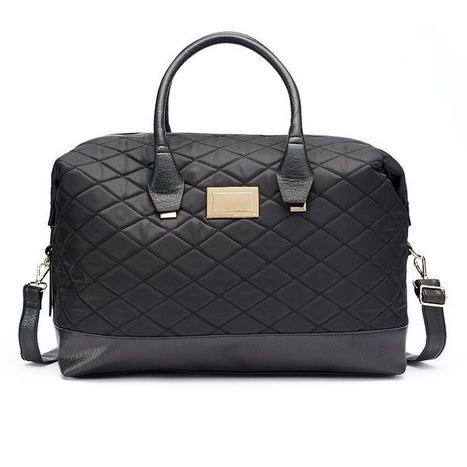 Juicy Couture Quilted Weekender Bag | Purses and Handbags | Scoop.it