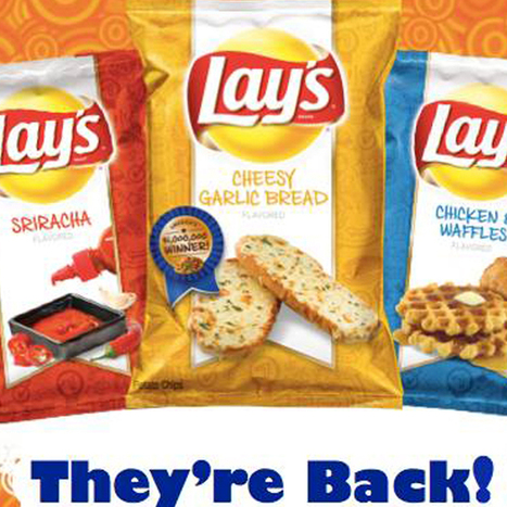 Lay's to produce Chicken & Waffles, Sriracha chips no one voted for | Troy West's Radio Show Prep | Scoop.it