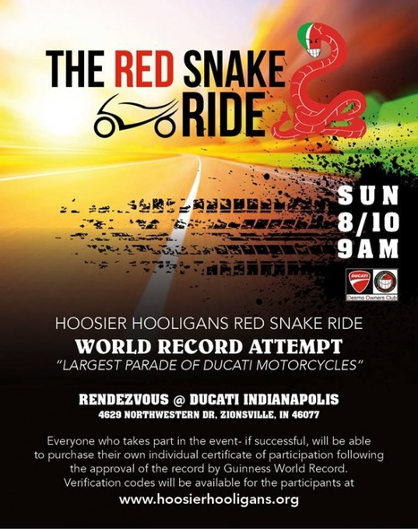 Ducati Parade Guinness Record Attempt, IndyGP | Ductalk Ducati News | Scoop.it