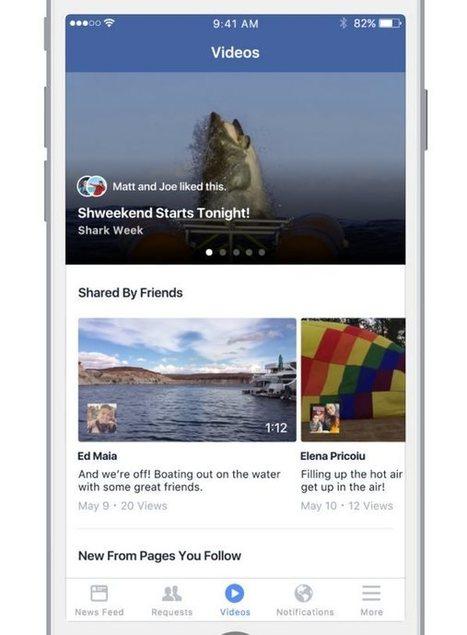 """Facebook presenta su propio """"Youtube""""   SEO, SEM, Social Media y Herramientas Google   Scoop.it"""