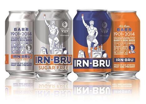 Irn-Bru unveils Commonwealth Games cans | Random Scottish Tourism Articles | Scoop.it