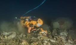 Humanoid diving robot hunts for sunken treasure in French shipwreck | DiverSync | Scoop.it