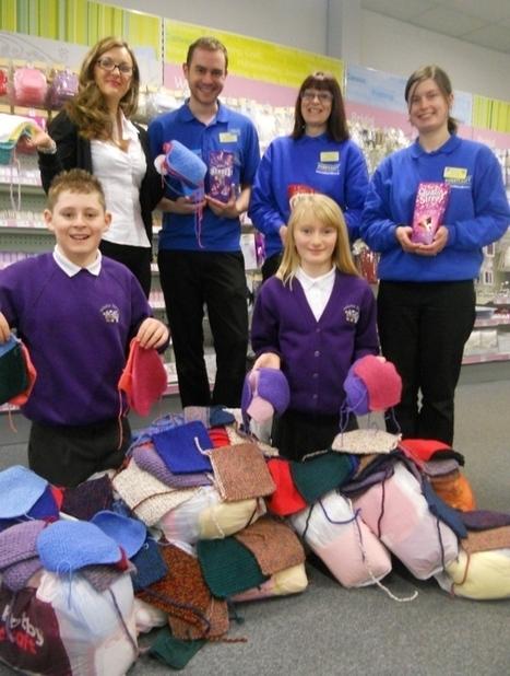 Arduthie knit for African orphanage - Kincardineshire Observer | Fiber Arts | Scoop.it