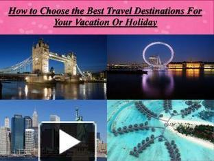 Spending your valuable vacation | Travel | Scoop.it