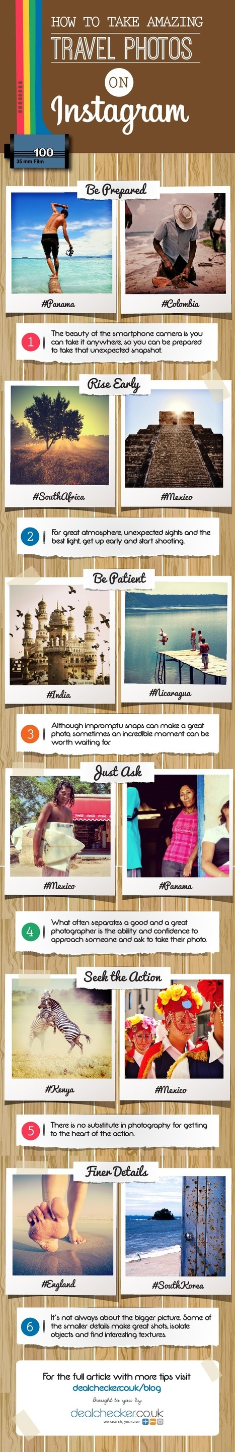 Top Tips for Instagram Travel Photography [Infographic] | MarketingHits | Scoop.it