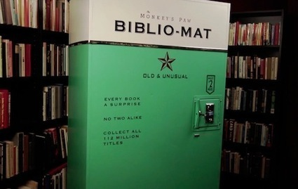 Vending Machine That Dispenses Random Second-Hand Books - DesignTAXI.com | Reading discovery | Scoop.it