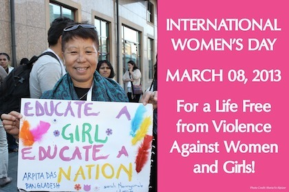 For a Life Free from Violence Against Women and Girls | Coffee Party Feminists | Scoop.it