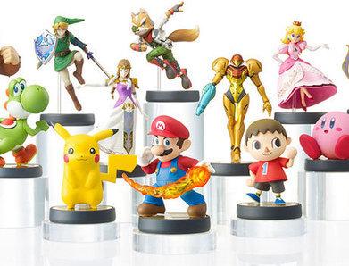 Nintendo unveils Amiibo NFC figures that work with multiple Wii U and 3DS games - NFC World+ | QR code, NFC, Réalité augmentée… | Scoop.it