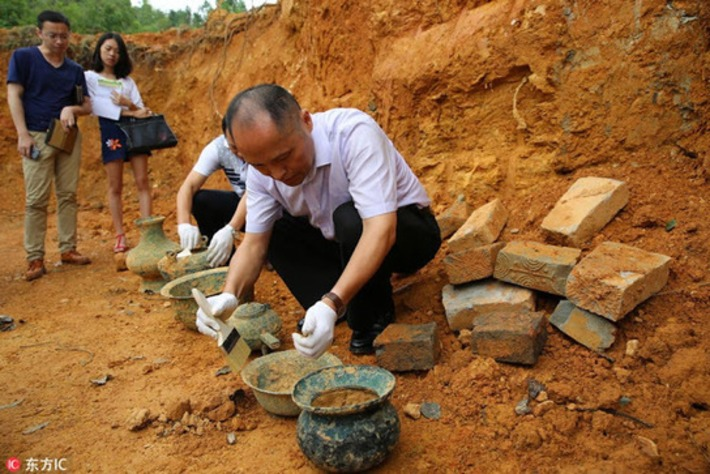 Six bronze vessels unearthed in Jiangxi | Archaeology News Network | Kiosque du monde : Asie | Scoop.it