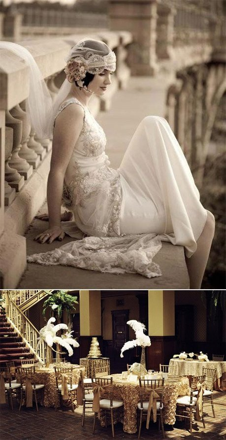 Guest Blog // Prints, Lace and the Roaring 20s | 2013 Wedding Trends | Scoop.it