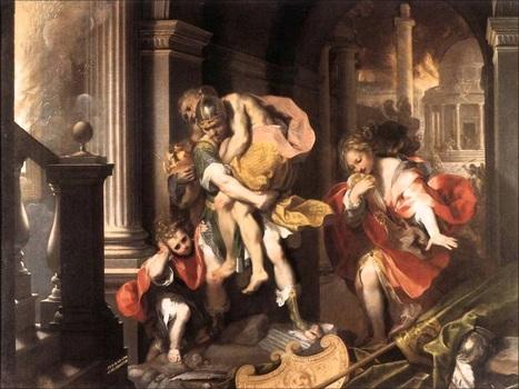La transición de la Troya incendiada a la fundación de Roma - InfoBAE.com | AURIGA | Scoop.it