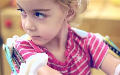 3D Printer Creates 'Magic Arms' For Two-Year-Old Girl | Geek Therapy | Scoop.it