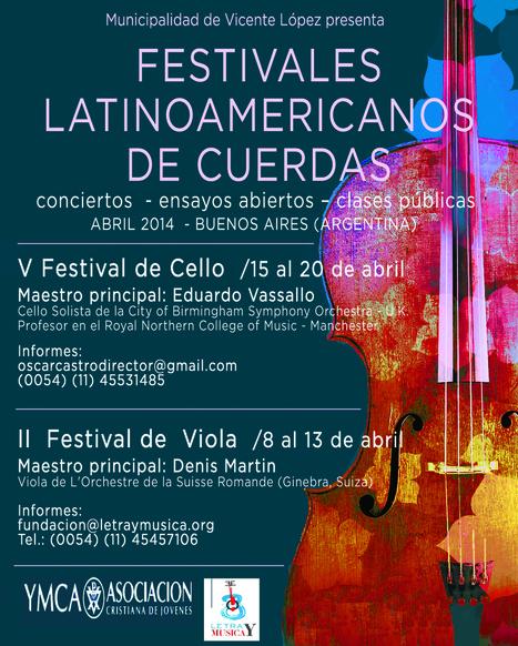 Festivales Latinoamericanos de Cello | Violonchelo | Scoop.it