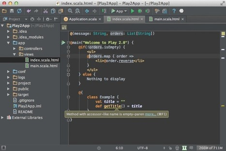 Play Framework 2.0 - IntelliJ IDEA - Confluence | playframework | Scoop.it