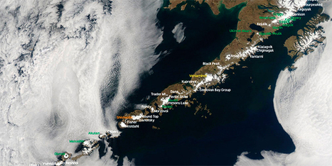 52 Alaskan Volcanoes in One Shot | Science Blogs | WIRED | Earth and Psyche | Scoop.it