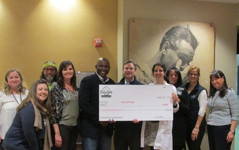 Terance Mathis Presents Funds to Emory ALS Center from 3rd Annual Golf Fundraiser | ALS Awareness | Scoop.it